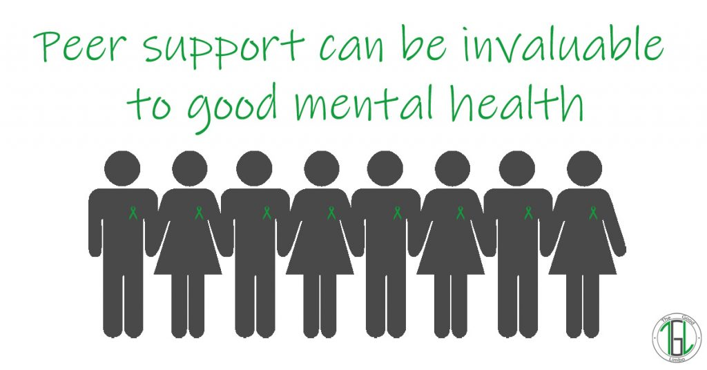 Peer support can be invaluable to good mental health