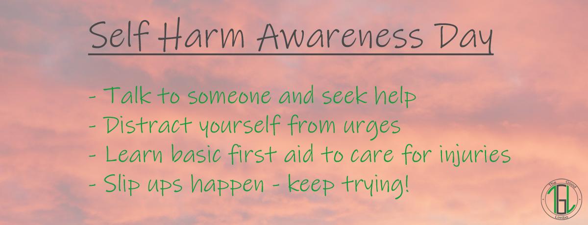 Self Harm Awareness Day