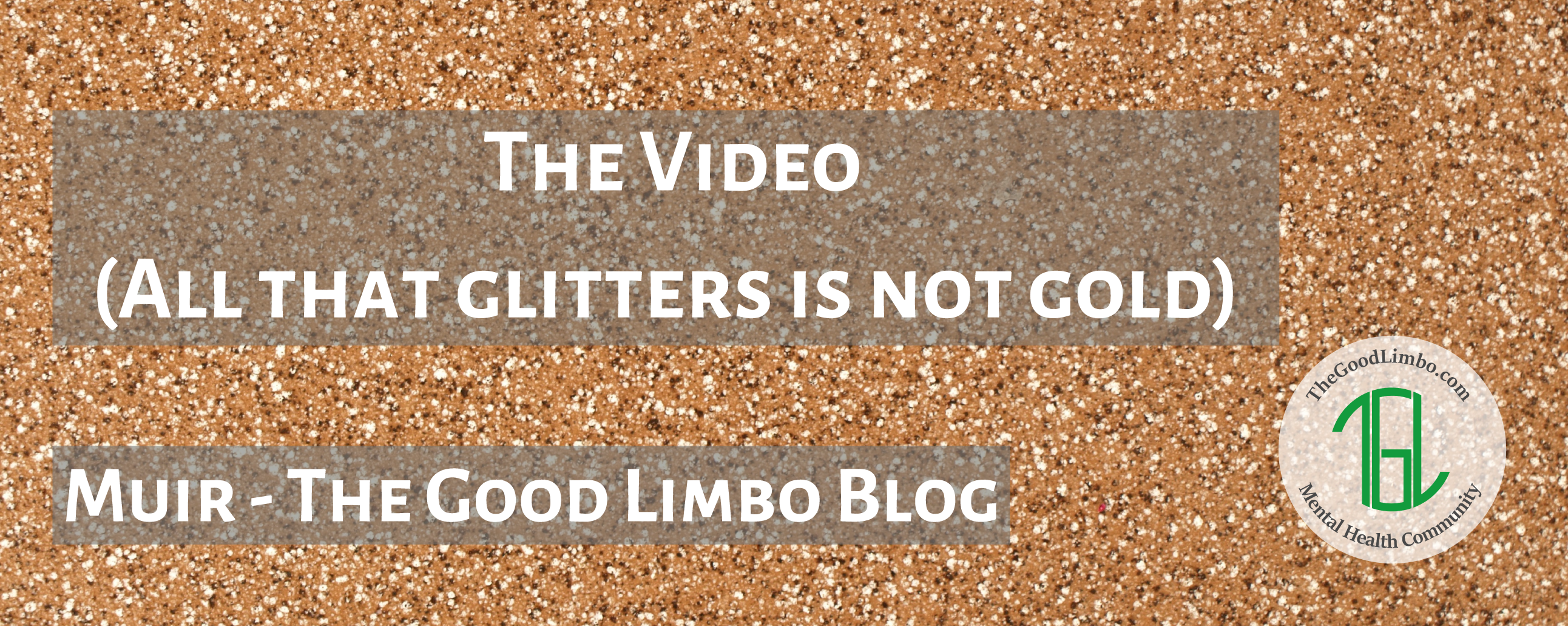 The Video Blog Glitter image