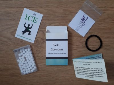 Image showing Small Comforts kit with contents