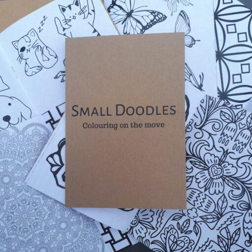 Small Doodles Colouring Book