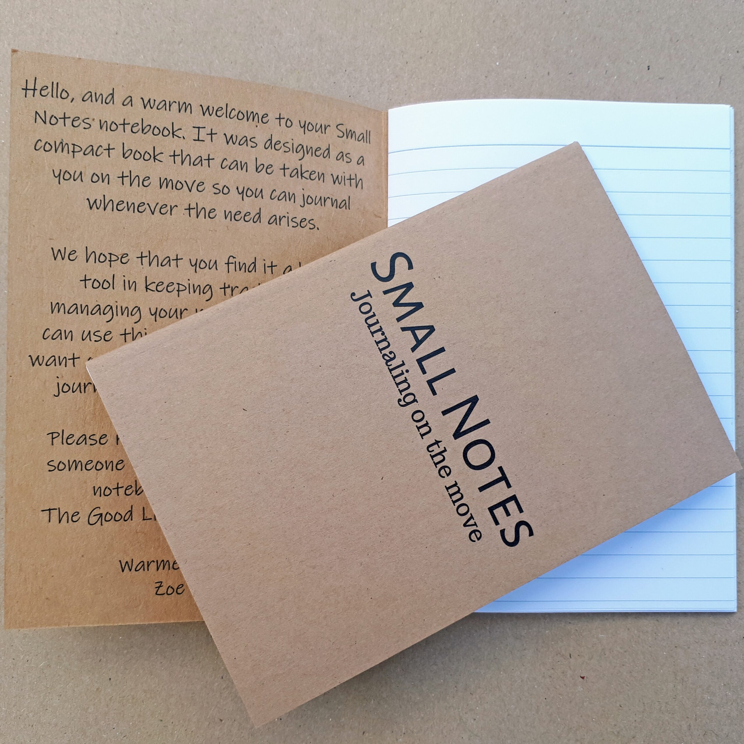 Small Notes Notebook
