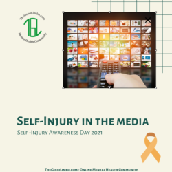 Self Injury in the media Blog